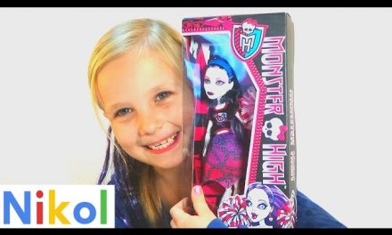 MH#1 Обзор Монстер Хай Спектра Вондергейст MH # 1 Review Monster High Spectra Vondergeyst