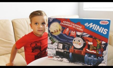 Roma opens Advent Calender Thomas and Friends Surprise Toys for kids, Thomas the tank engine videos