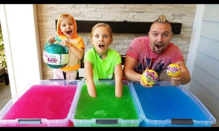 ЧЕЛЛЕНДЖ ЛОЛ и Джелли БАФФ / GELLI BAFF TOY CHALLENGE GAME! LOL Surprise Baby Dolls / ЛОЛ куклы