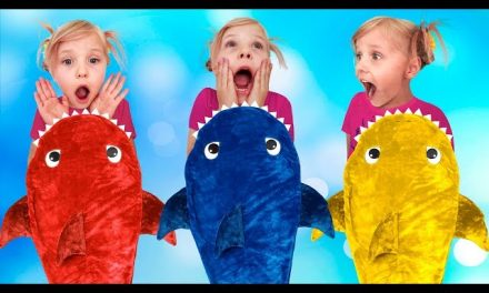 Baby Shark Song for kids Learn colors with Finger family song for children