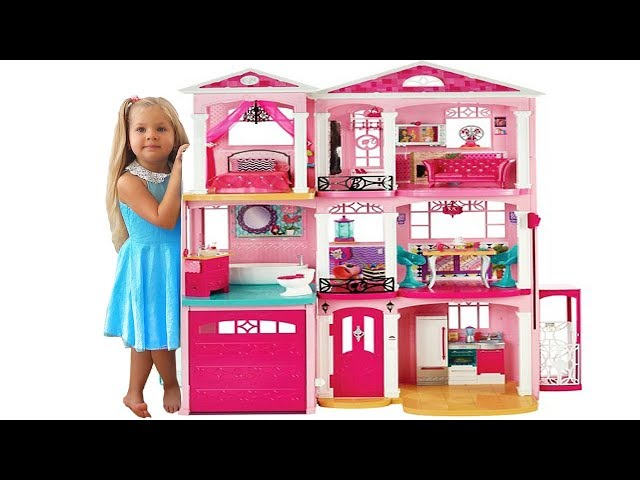 The Biggest Barbie Toy On Kids Diana Show Barbie Doll House