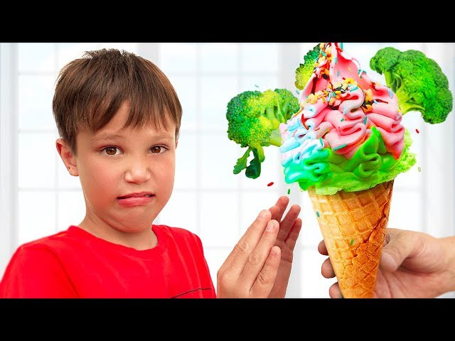Do you like broccoli ice cream kids song with Max and Katy
