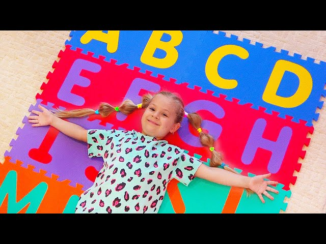 ABC Song — Learn English Alphabet for Children with Diana