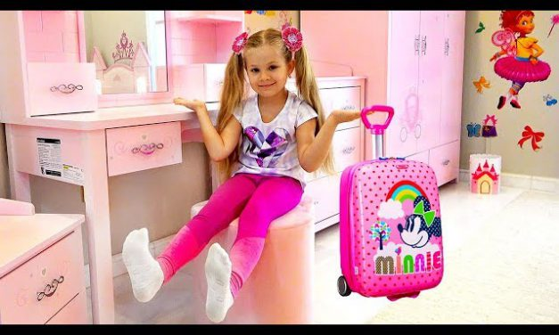 Diana and her new Room — Head, Shoulders, Knees & Toes Song For Kids