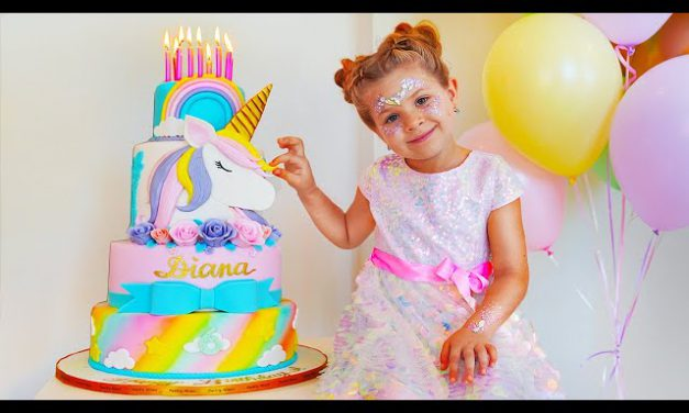 Diana & her 6th Birthday — surprises and sweets