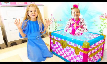 Diana and the Magic Trunk — Diana and Roma dress up for a disco party!