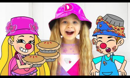 Diana and Roma Funny Cartoon Stories for Kids