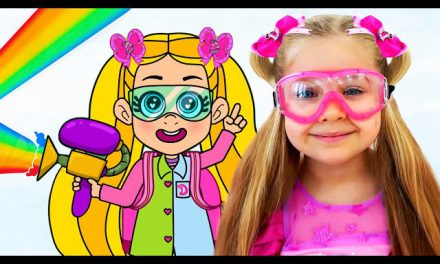 Diana and Roma Magic Colors Story Cartoon for Kids