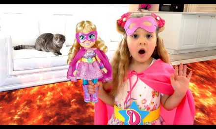 Diana and Roma Pretend Play with «Love, Diana» Mashups Dolls