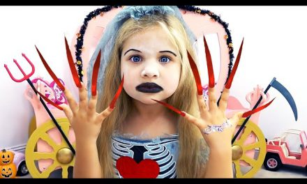 Diana and Roma Funny Halloween stories for kids