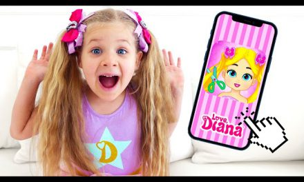 Diana and Love, Diana Dress Up — new game for kids
