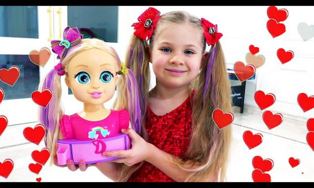 Diana and Roma Pretend Play with Dolls | Funny stories for kids