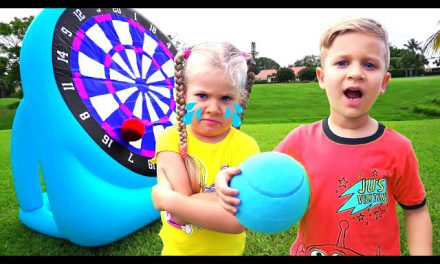 Roma and Diana fun play Outdoor Games