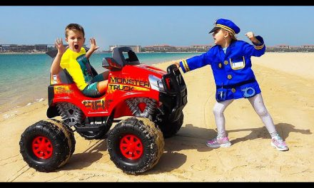 Roma and Diana Pretend Play Police Compilation stories for kids