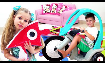 Roma and Diana Funny Stories with Toys for kids
