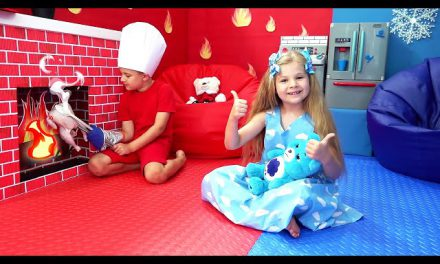 Diana and Roma Play in New Room | Funny videos for children
