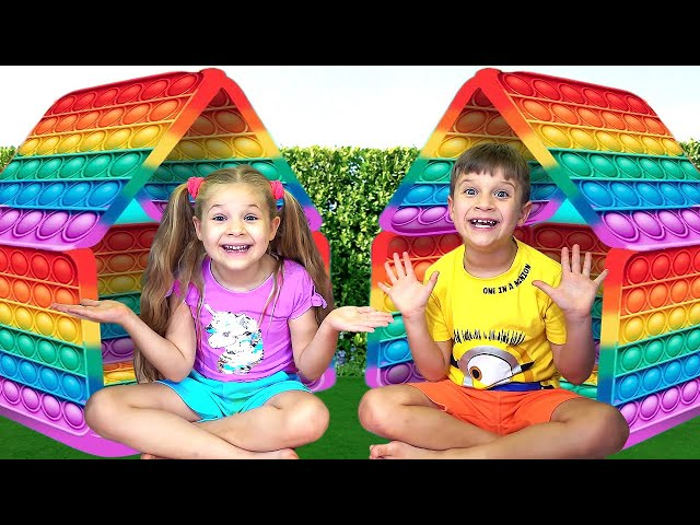 Diana and Roma — Collection of Funny Challenges for children