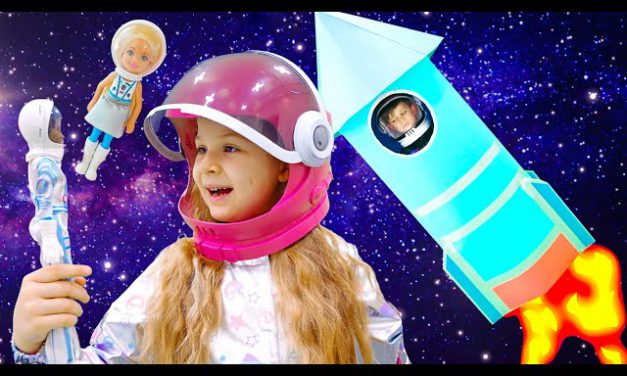 Diana Rescues Roma from Space with Barbie Space Discovery